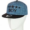 Стильная кепка с прямым козырьком в стиле Хип-Хоп