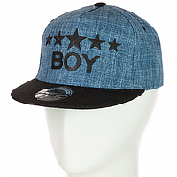 Стильная кепка с прямым козырьком в стиле Хип-Хоп, фото 1