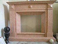 Мраморный камин Orient Pink