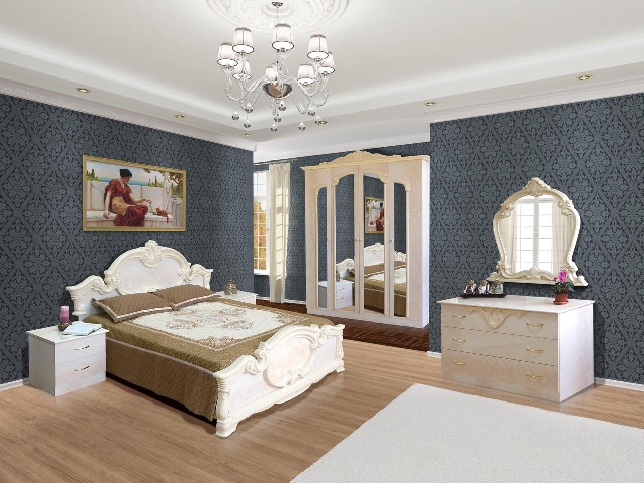 Спальня в классическом стиле Империя  6Д Світ меблів, цвет роза