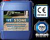 """Гидрофобизатор-лак для камня с мокрым эффектом,водный состав """"WETSTONE"""""""