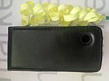 Чохол для Nokia 500 (чорний фліп), фото 2