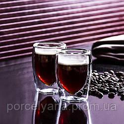 Чашка с двойным стеклом для еспрессо 85 мл 1шт boral