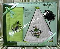 Вафельные полотенца кухонные Marisol 2шт