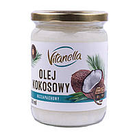 Кокосовое масло рафинированное Vitanella 500 мл