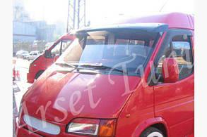 Козырек на лобовое стекло Ford Transit (на кронштейнах)