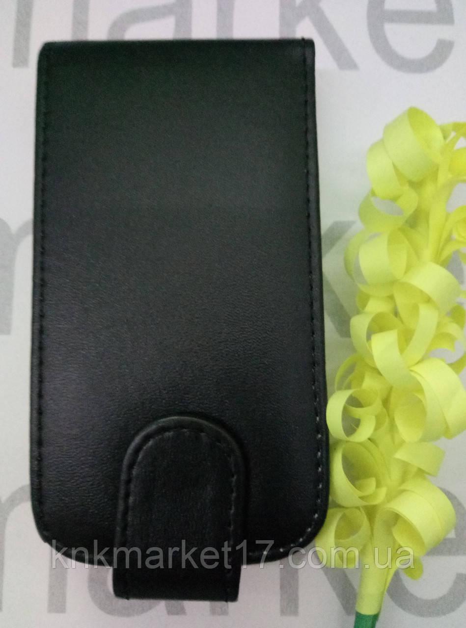 Чехол для Nokia 620  (черный флип)