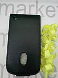 Чехол для Nokia 620  (черный флип), фото 2