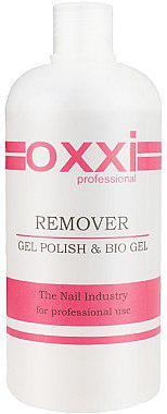 Жидкость для снятия гель-лака, геля и акрила Gel Remover OXXI 500 мл