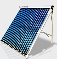"""Солнечный вакуумный коллектор SunRain TZ58/1800-30R1A """"без задних опор"""""""