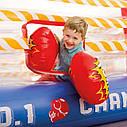 Надувной батут боксерский ринг Intex Jump-O-Lene с боксерскими перчатками, фото 3