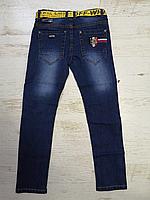 Джинсовые брюки для мальчиков оптом, Seagull, 134-164 рр., арт.CSQ-56850, фото 3