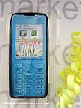 Чехол для Nokia 206/2060  (черный силикон), фото 2