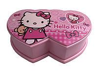 Шкатулка музыкальная 8001-2 (Hello Kitty 2) с балериной