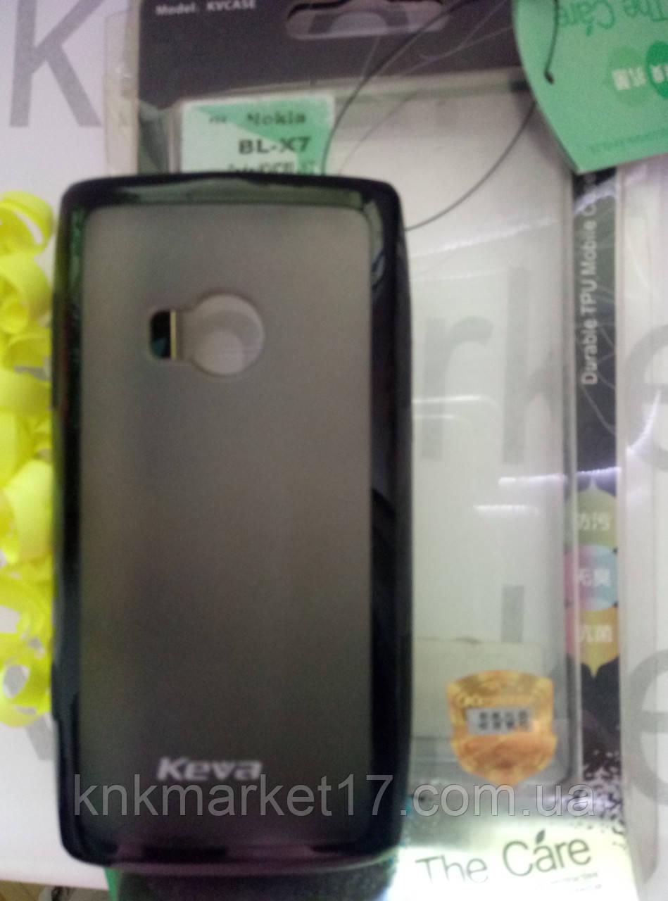 Durable TPU Mobile Case  для Nokia X7  (черный силикон)