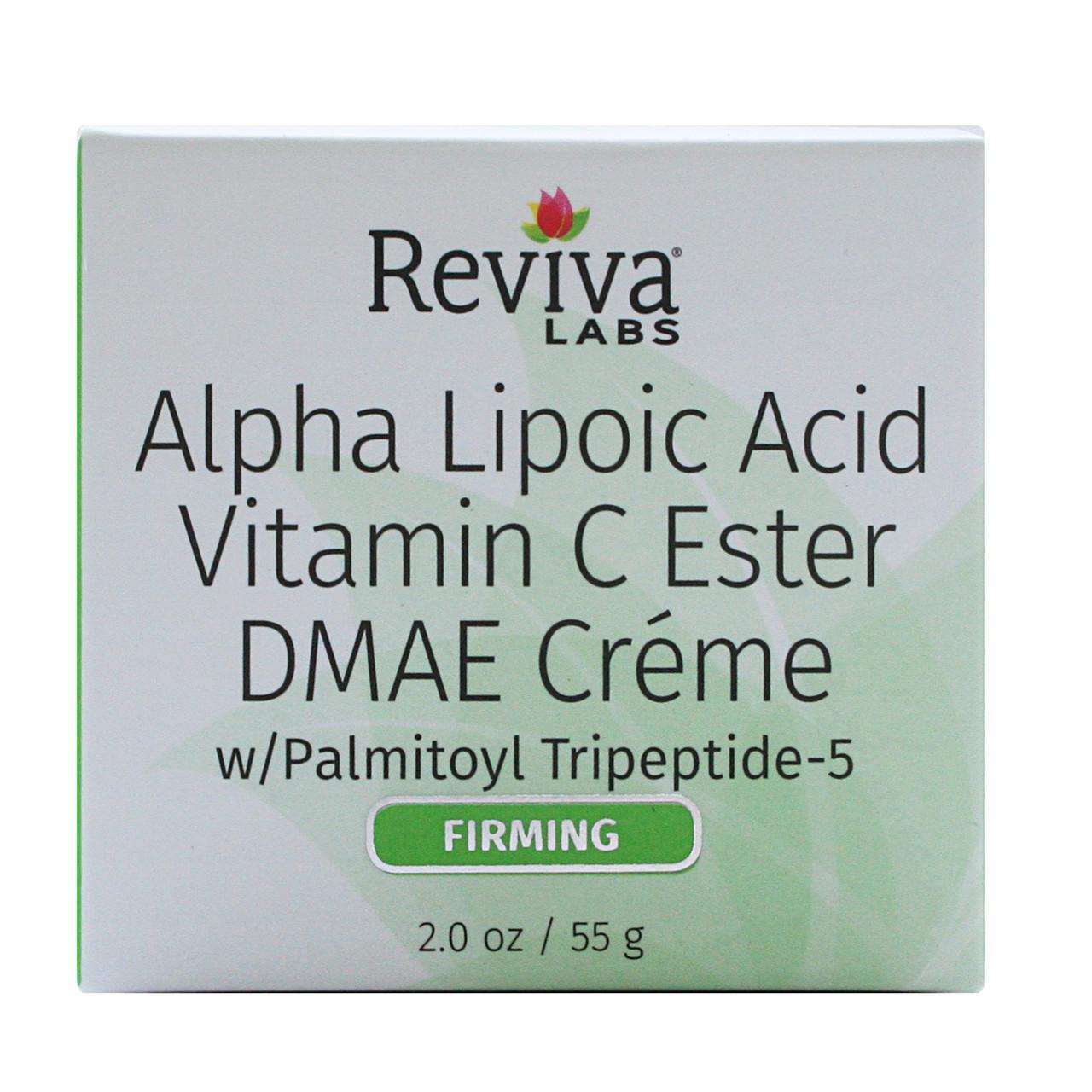 Крем против старения с альфа-липоевой кислотой, витамином C  и ДМАЭ, 55 грамм
