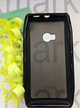 Durable TPU Mobile Case  для Nokia X7  (черный силикон), фото 3