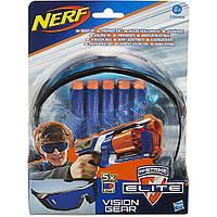 Комплект Hasbro Nerf из очков и 5 стрел для бластеров Элит (A5068)