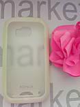Durable TPU Mobile Case для Nokia N710 (білий силікон), фото 2