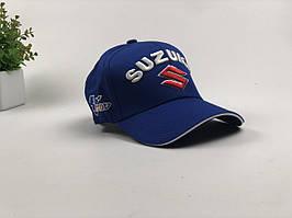 Кепка бейсболка Авто Suzuki (синяя)