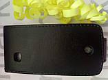 Чохол для Nokia 309 (чорний фліп), фото 2