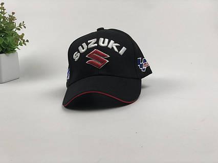 Кепка бейсболка Авто Suzuki (черная), фото 2