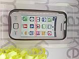 Чохол для Nokia 5250 (силікон чорний прозорий), фото 2
