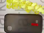 Чохол для Nokia 5250 (силікон чорний прозорий), фото 4