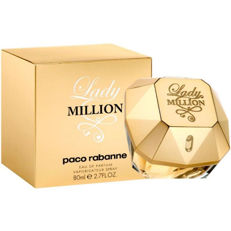 Парфюмерия, духи для женщин   Paco Rabanne Lady Million 80ml реплика