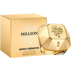 Парфюмерия, духи для женщин   Paco Rabanne Lady Million 80ml реплика, фото 2