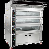 Модульная электрическая подовая печь EKF-120x80/5 с выт.  Fimak