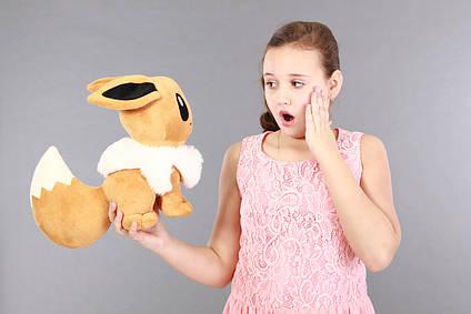 М'яка плюшева іграшка Іві Покемон (EEVEE) 35 см