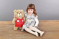 Мишка Тэд из фильма Третий лишний плюш 46 см, игрушка медведь Тед Тедди TED