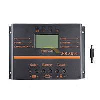 Солнечный контроллер заряда АБ SOLAR60 12/24В