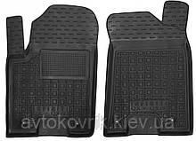 Полиуретановые передние коврики в салон Infiniti QX56 2010- (AVTO-GUMM)