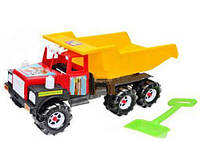 "Машина грузовик ""Ман"" (с лопаткой и грабельками) 08-804"