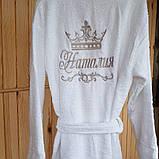 Именные халат. Женский именной халат., фото 4