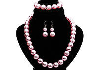 Чешская бижутерия Яблонец (Jablonex) Мразовка модный цвет пудра