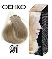 C:EHKO Крем-краска для волос №91 жемчужный блондин