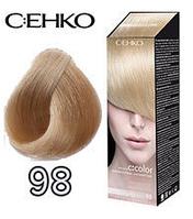 C:EHKO Крем-краска для волос №98 бежевый блондин