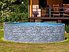 Сборный морозостойкий бассейн Mountfield Azuro STONE (Ø3,6м \ 12000л \ h=1,2м)