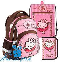 Шкільний комплект для дівчинки Kite Hello Kitty HK18-518S (1-4 клас)