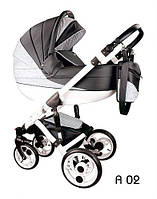 Универсальная коляска 2 в 1 Teddy Bart-Plast Aura A02