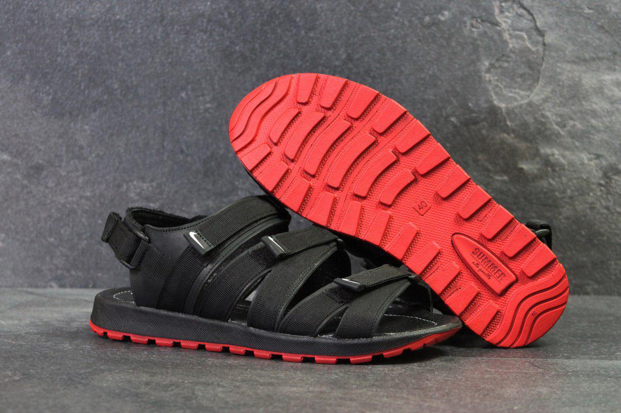 Босоножки Мужские Черные Nike 5242 — в Категории