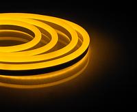 Неоновая светодиодная лента LS720 желтая