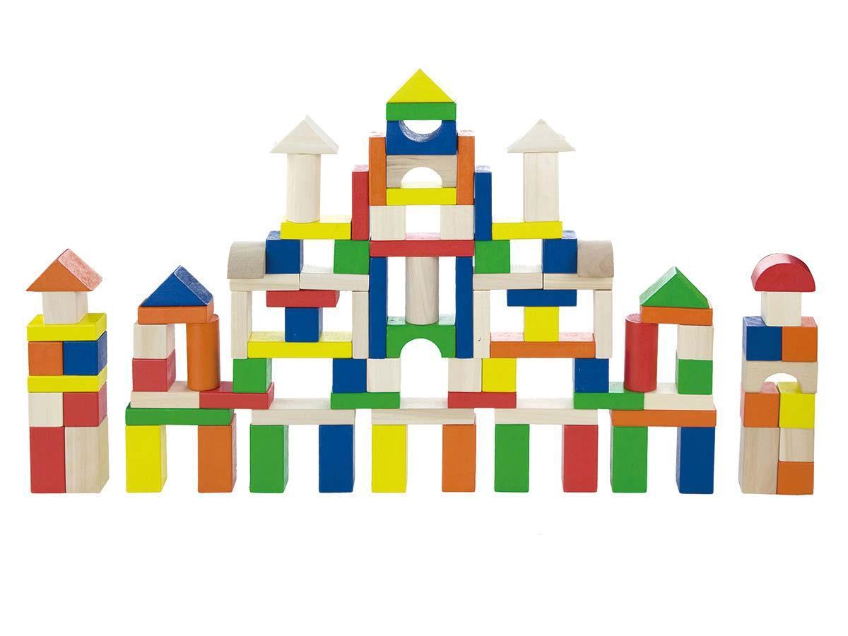 Набор строительных блоков Большая стройка Viga toys 100 шт. (50334)
