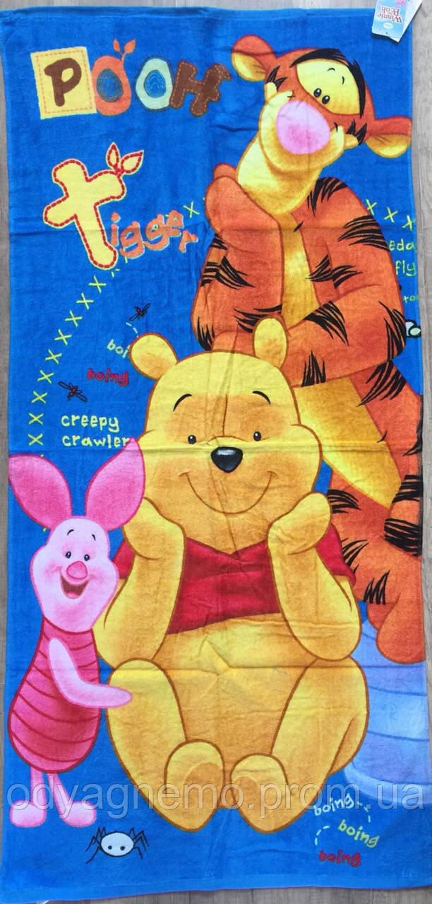 Полотенце детское Disney оптом, 70*140 см.