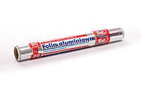 Фольга пищевая алюминиевая для запекания 20м/28см Top Pack® настоящая намотка