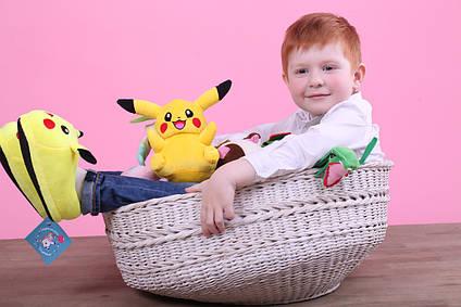 М'яка іграшка Покемон Пікачу (Pikachu) 22 см плюшева іграшка для дітей