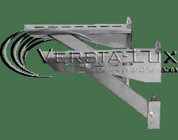Кронштейн из нержавеющей стали (комплект): длина - 400 - 1250 мм;